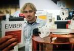 Eric J. Wilhelm na konferenci Autodesk University 2014, kde prezentoval prototyp 3D tiskárny Ember na softwarové platformě Spark.