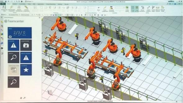 Napříč aplikacemi od Siemensu se začíná objevovat integrace intuitivního PLM prostředí Active Workspace, připomínající Office 365.