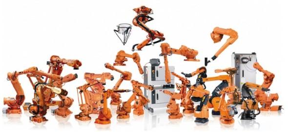 Současná nabídka ABB v oblasti robotiky čítá desítky typů robotů. Celkově se již fi rma může pochlubit čtvrt milionem instalací po celém světě.