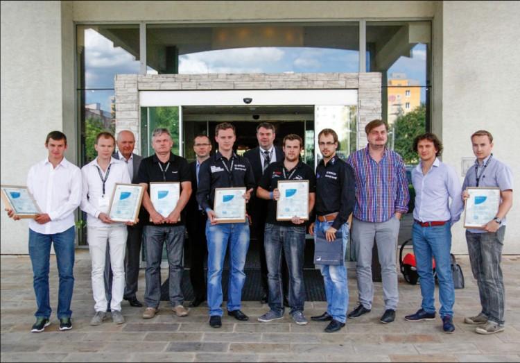 Vítězné projekty v soutěži AV Engineering Awards 2014