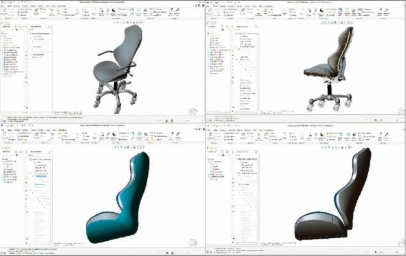Nový nástroj Design Exploration pomáhá vytvořit různé varianty návrhů a snadno je pak prezentovat.