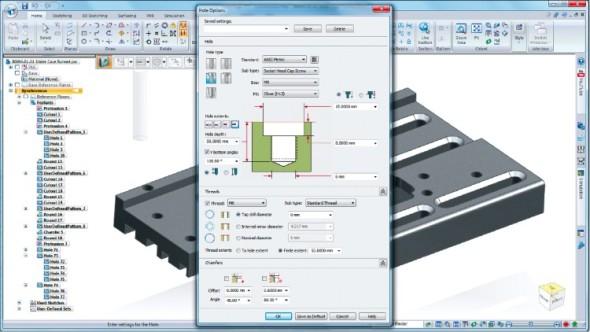 Nové nástroje pro vytváření děr jsou založeny na normách DIN, ISO a ANSI pro závity.