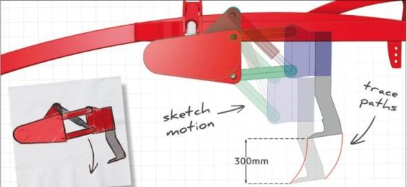 Plánování a zkoušení různých variant návrhů je ve specializované aplikaci snazší než v tradičním CAD softwaru.