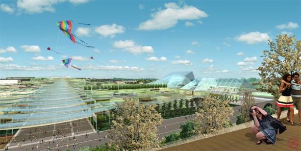 Platforma 3D Experience pomohla vyvinout virtuální náhled na veletrh Expo. Foto: Dassault Systèmes