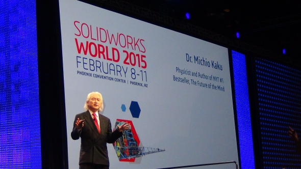 Michio Kaku si myslí, že v roce 2025 budeme cestovat nadzvukovou dopravou. Foto: Marek Pagáč