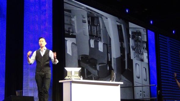 Třetí den konference moderoval Jinsop Lee, který hovořil o novém přístupu k designu.
