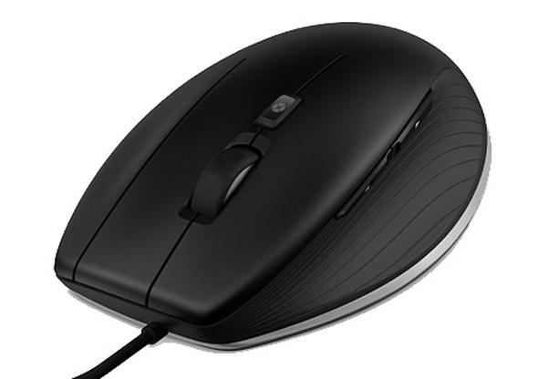 2D myš má sedm tlačítek pro rychlý přístup kfunkcím a příkazům. Foto: 3Dconnection