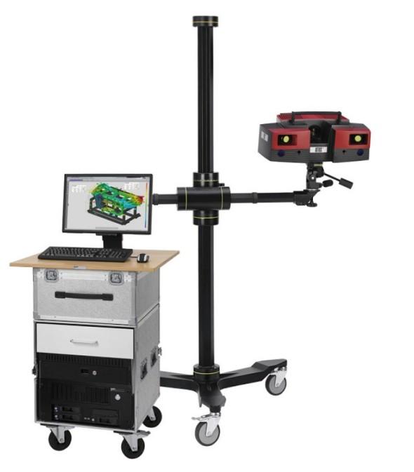 Bezdotykový optický 3D skener Atos.