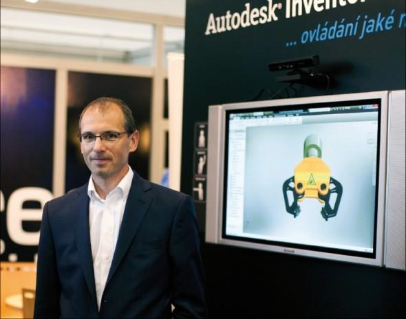 David Palas, ředitel společnosti Autodesk pro země střední a východní Evropy.