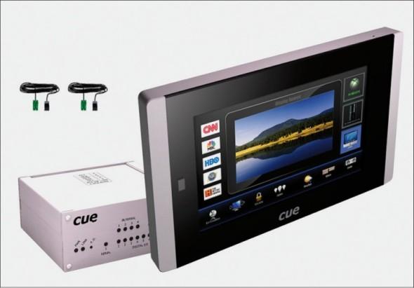 V projektu ovládacího panelu TouchCue pro společnost Cue zpracovával vedle návrhu vzhledu Faktum Design také projektovou dokumentaci.