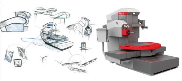 Zakázka na zpracování designu horizontální vyvrtávačky pro firmu Fermat CZ ukazuje, že i strojní zařízení může vypadat opravdu atraktivně.