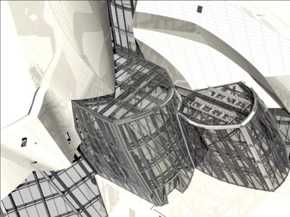 Prosklené fasády budovy pro Nadaci Louise Vuittona v Paříži sestávají z mnoha tisíc zcela unikátních prvků, které projektanti Sipralu konstruovali v SolidWorksu.