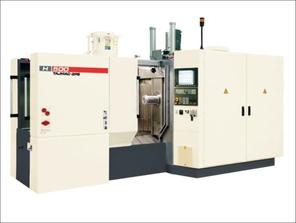Představitelem vysoce produktivních horizontálních obráběcích center je stroj H 500.