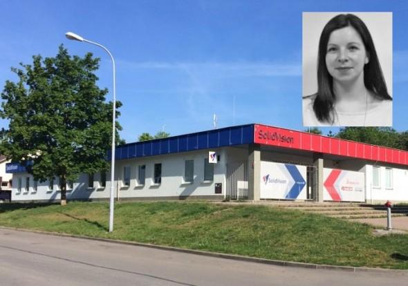 Ing. Michaela Sochorová, nová manažerka pro vzdělávání a spolupráci se školami ve společnosti SolidVision.