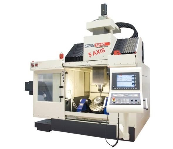 Obráběcí stroj MCV 1210 našel uplatnění zejména na německém trhu.