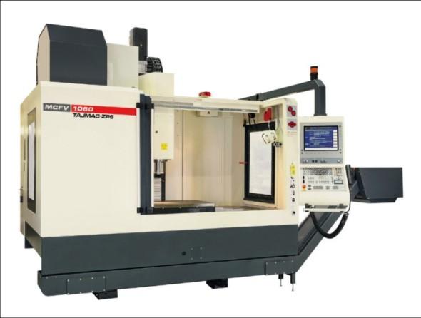 Vertikální obráběcí centrum MCVF 1060 je nejprodávanějším strojem od Tajmac-ZPS.