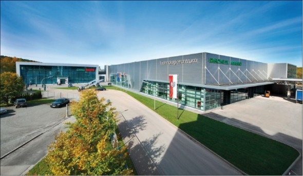 Výrobní závod DMG Mori v Seebachu.