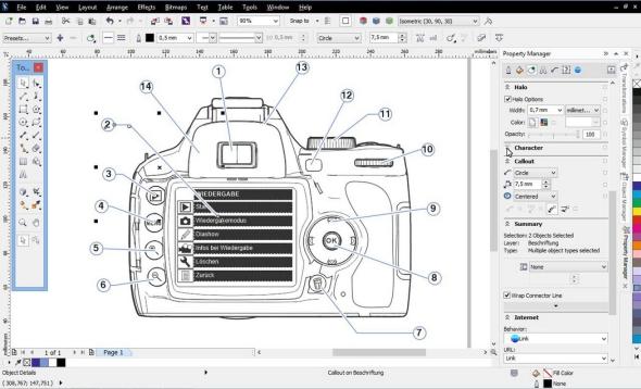 CorelDRAW Technical Suite X7 převádí data do 3D PDF. Foto: Corel Corporation