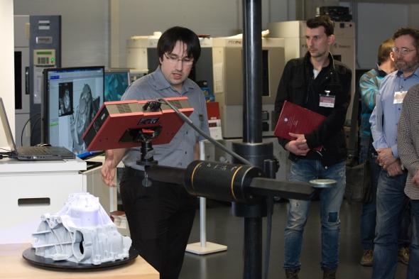 Digitalizace dat se využívá při kontrole vyrobených dílů nebo reverzním inženýrství. Foto: MCAE Systems