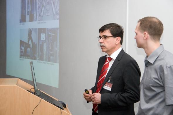 Jeden ze zakladatelů společnosti GOM Konstantin Galanulis zavítal do ČR poprvé. Foto: MCAE Systems
