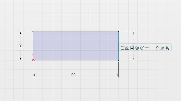 Pro nového uživatele SolidWorksu Industrial Design bude přechod ze SolidWorksu jednoduchý, postup při tvorbě skici je stejný. Screenshot: Marek Pagáč