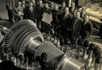 První brněnská strojírna se jako součást národního podniku Závody Klementa Gottwalda v roce 1976 v Brně chlubila jednou ze svých turbín.
