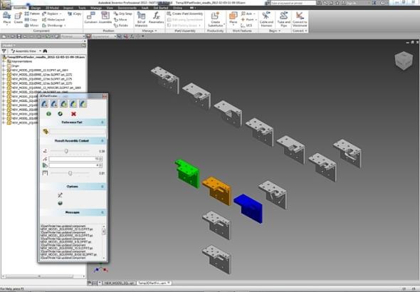 Nemodelujte již jednou modelovaný díl, 3DPartFinder jej vyhledá. Foto: 3DSemantix
