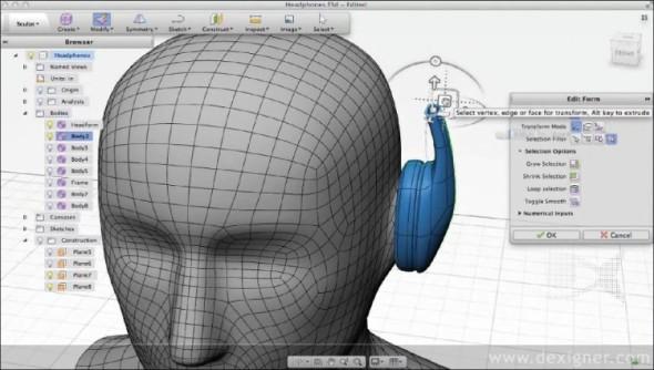 Prvním komplexnějším 3D CAD systémem bude pravděpodobně Autodesk Fusion 360, obsahující také CAM modul.