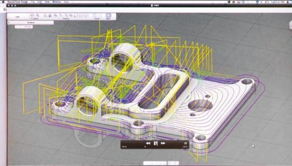 Neoficiální fotografie jednoho z prezentačních slajdů odhaluje ranou integraci CAM nástrojů ze softwaru HSMWorks v cloudovém prostředí Fusion 360.
