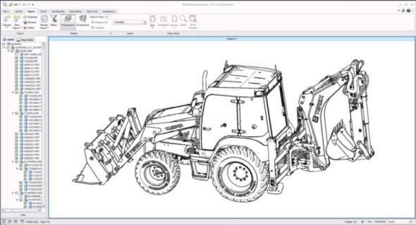 Creo Illustrate umožňuje načíst 3D CAD data včetně struktury sestavy a vytvořit z nich požadovanou ilustraci ve 3D. Třeba perokresbu.