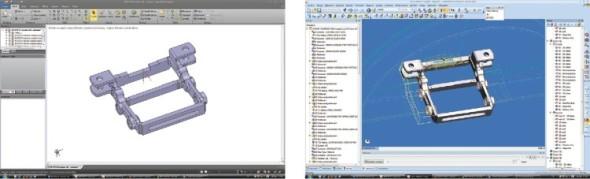 Flexibilita systémů SpaceClaim a Edgecam umožňuje hladkou výměnu dat mezi CAD a CAM rozhraním.
