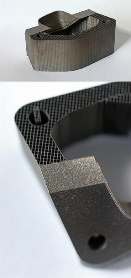 Možnost přesně definovat strukturu dílu, a také recyklovatelnost nevyužitého prášku, vedou k minimální spotřebě materiálu.