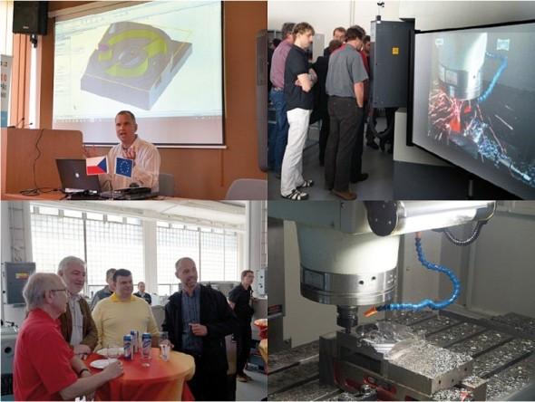 Unikátního semináře se zúčastnilo osm konkurenčních dodavatelů CAM softwaru.
