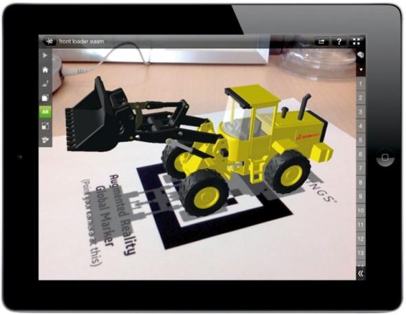 Nová funkce pro rozšířenou realitu v prohlížeči eDrawings s pomocí QR kódu promítne vaše 3D modely do reálného světa.