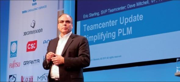 Eric Sterling vede PLM systém Teamcenter směrem jednoduššího používání, aby byl atraktivní pro širší okruh uživatelů.
