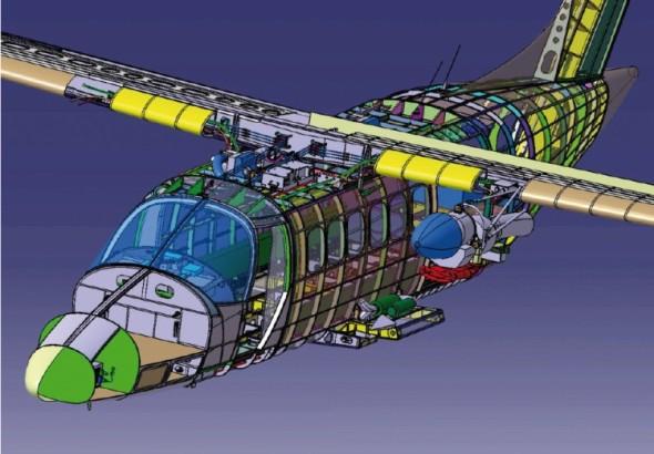 Letoun Evektoru EV-55 zaměstnal při vývoji dvě desítky českých firem a je vnímán jako jeden ze strategických projektů českého leteckého průmyslu.
