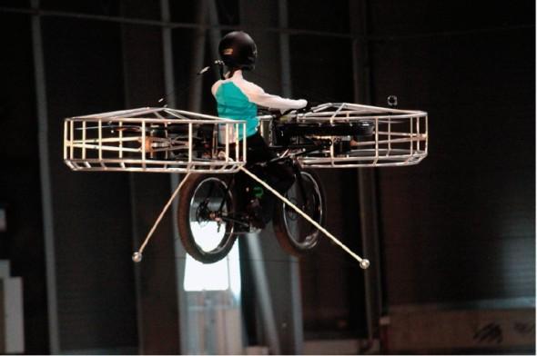 """Od 29. května 2013 můžeme si F-bike konečně zaslouží označení """"létající kolo""""."""