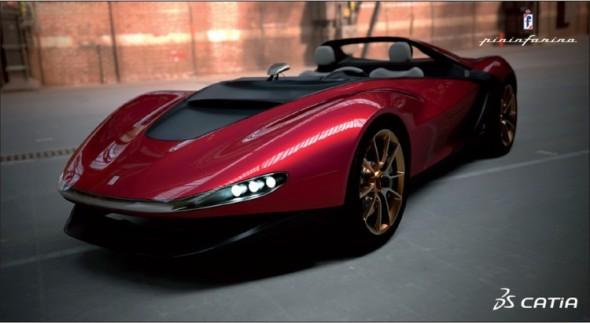 Futuristický roadster Ferrari Sergio, při jehož vývoji jsou využívány zejména digitální nástroje, vznikl jako pocta zakladateli firmy Pininfarina, který v pětaosmdesáti letech zemřel vloni v létě, a nese jeho křestní jméno.