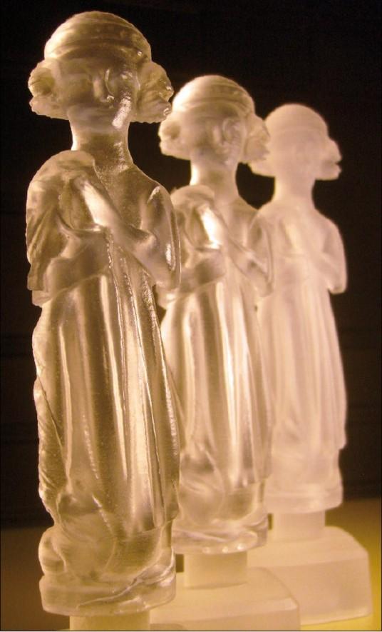 Kopie sošky vytvořené na 3D tiskárně Objet30 Pro.