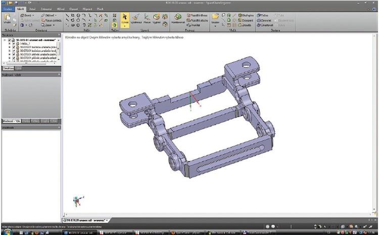 Systémy Edgecam a SpaceClaim v malosériové výrobě
