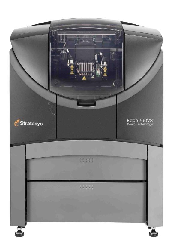 3D tiskárna Objet Eden 260VS je vstupní branou do světa tvorby vysoce kvalitních prototypů střední velikosti. Umožňuje Vám tisknout ze 17 druhů materiálů, včetně speciálních hmot určených pro dentální a zdravotnické použití. Díky svým malým rozměrům je tato tiskárna ideální do kancelářských prostor. Foto:MCAE Systems