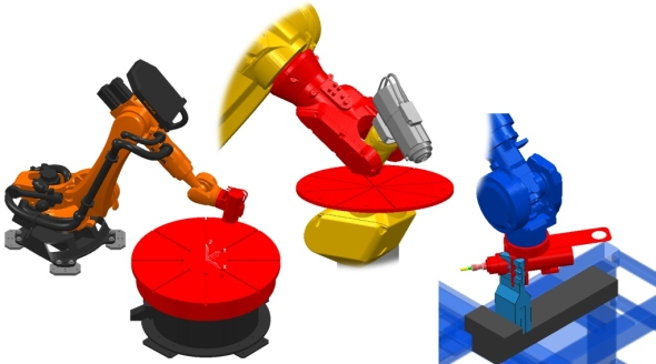 Delcam vPowerMillu Robot 2015 rozšířil databází robotů. Foto: Delcam
