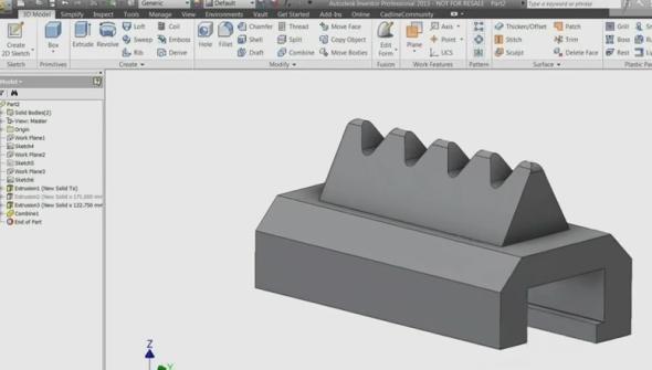 ... 3D model.