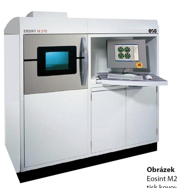 Zařízení Eosint M270 pro 3D tisk kovových dílů.