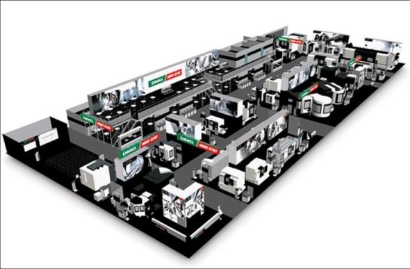 Rozlehlá expozice DMG/Mori Seiki ukázala celkem 32 multifunkčních strojů, z toho pět novinek ve světové premiéře.