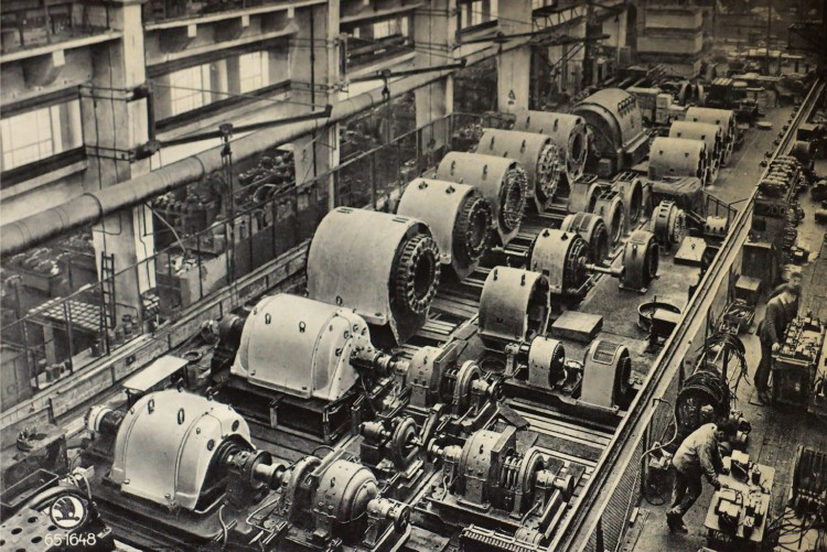 Československé strojírenství na prahu velké krize