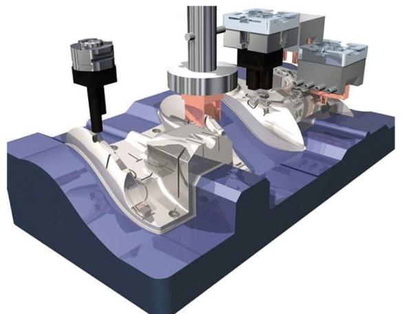 Výroba formy pomocí modulu Electrode v systému PowerShape. Foto: Delcam