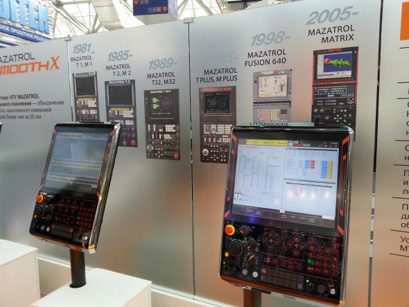 Společnost Mazak upoutala vývojem řídicího systému Mazatrol – ten je dostupný již od roku 1981.