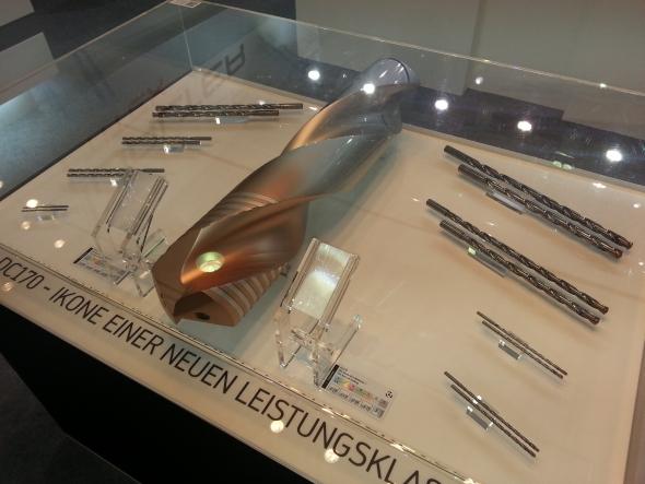 Výrobce řezných nástrojů společnost Walter Tools prezentovala unikátní vrták DC 170.