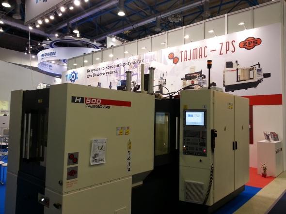 Zlínská společnost Tajmac-ZPS vystavovala mj. horizontální obráběcí centrum H 500.
